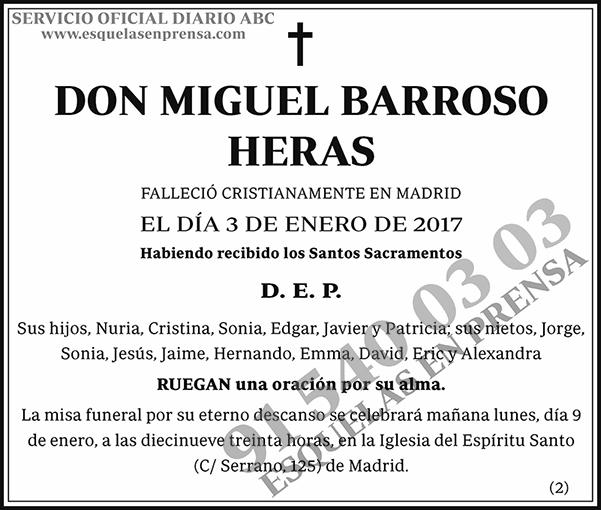 Miguel Barroso Heras
